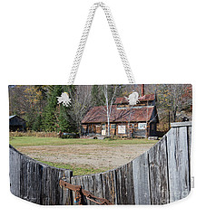 Sugar Shack Weekender Tote Bag by Jola Martysz