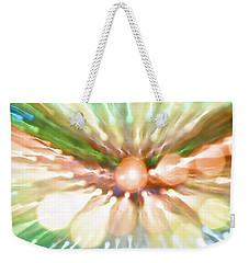 Weekender Tote Bag featuring the photograph Suicide Blonde by Dazzle Zazz