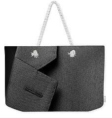 Suit Texture Weekender Tote Bag