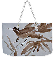 Sumi Bird Weekender Tote Bag by Beverley Harper Tinsley
