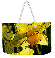 Sumi-e In Yellow Weekender Tote Bag