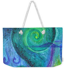 Weekender Tote Bag featuring the painting Summer Aotearoa by Jocelyn Friis
