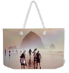 Summer At The Seashore  Weekender Tote Bag by Micki Findlay