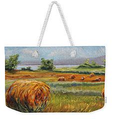 Summer Bales Weekender Tote Bag