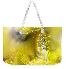 Weekender Tote Bag featuring the digital art Summer Barley by Richard Thomas