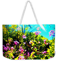 Summer Beauty Weekender Tote Bag