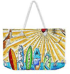 Summer Break By Madart Weekender Tote Bag