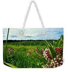 Weekender Tote Bag featuring the photograph Summer Breeze by Zafer Gurel