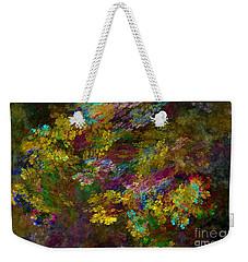 Weekender Tote Bag featuring the digital art Summer Burst by Olga Hamilton