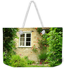 Summer Cottage Weekender Tote Bag