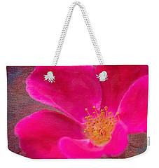 Summer Delight My Pink Rose Weekender Tote Bag