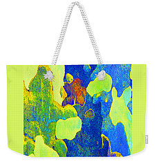 Summer Eucalypt Abstract 14 Weekender Tote Bag