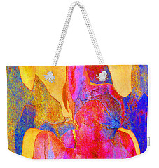 Summer Eucalypt Abstract 24 Weekender Tote Bag