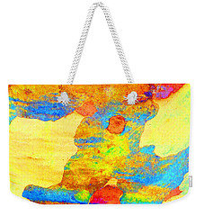 Summer Eucalypt Abstract 25 Weekender Tote Bag