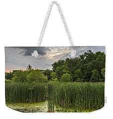 Summer Evening Clouds Weekender Tote Bag