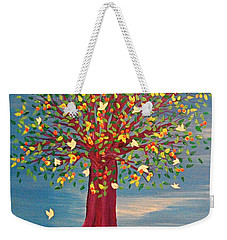 Summer Fantasy Tree Weekender Tote Bag