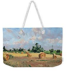 Summer Fields In Georgetown On Weekender Tote Bag