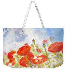 Summer Flowers Weekender Tote Bag