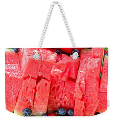 Summer Fruit Weekender Tote Bag