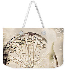 Weekender Tote Bag featuring the photograph Summer Fun by Trish Mistric