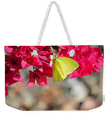 Summer Garden II In Watercolor Weekender Tote Bag