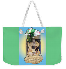 Summer Guitar Weekender Tote Bag