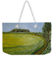 Summer In Canola Field Weekender Tote Bag