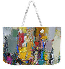 Summer In Japan Town Weekender Tote Bag