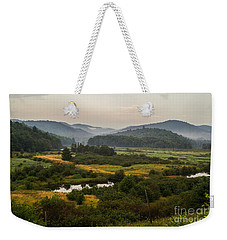 Weekender Tote Bag featuring the photograph Summer In New York by Sue Smith
