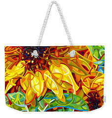 Summer In The Garden Weekender Tote Bag by Mandy Budan