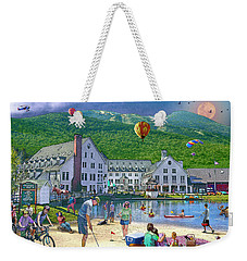 Summer In Waterville Valley Weekender Tote Bag