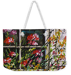 Summer Inside And Out Weekender Tote Bag by John Williams