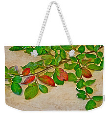 Summer Leaves Weekender Tote Bag