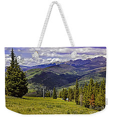 Summer Lifts - Vail Weekender Tote Bag