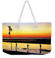 Weekender Tote Bag featuring the photograph Summer Memories by James Kirkikis