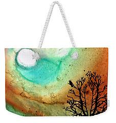 Summer Moon - Landscape Art By Sharon Cummings Weekender Tote Bag by Sharon Cummings