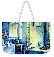 Summer Morning Visitors  Weekender Tote Bag