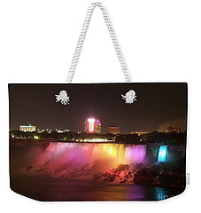 Summer Night In Niagara Falls Weekender Tote Bag