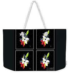 Weekender Tote Bag featuring the digital art Summer Nights by Ann Calvo