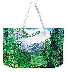Summer Paradise Weekender Tote Bag by Barbara Jewell
