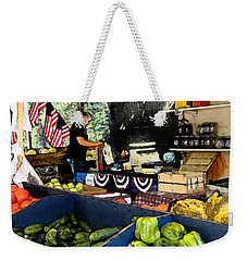 Summer Produce Weekender Tote Bag