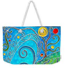 Summer Solstice Weekender Tote Bag by Shawna Rowe