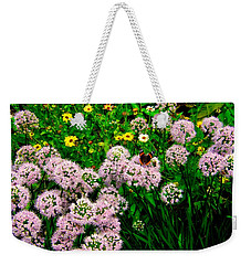 Weekender Tote Bag featuring the photograph Summer Song by Zafer Gurel