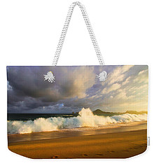 Weekender Tote Bag featuring the photograph Summer Storm by Eti Reid