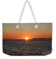 Weekender Tote Bag featuring the photograph Summer Sunset by John Telfer