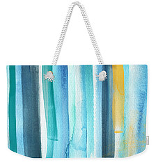 Summer Surf- Abstract Painting Weekender Tote Bag