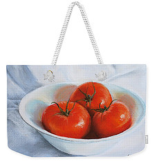 Summer Tomatoes Weekender Tote Bag by Marna Edwards Flavell