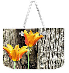 Summer Tulips 6069 Hdr Weekender Tote Bag by Maciek Froncisz