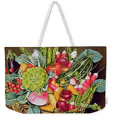 Summer Vegetables Weekender Tote Bag by EB Watts
