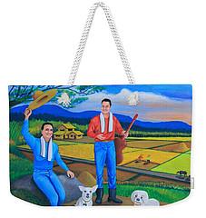 Summer View Weekender Tote Bag by Lorna Maza